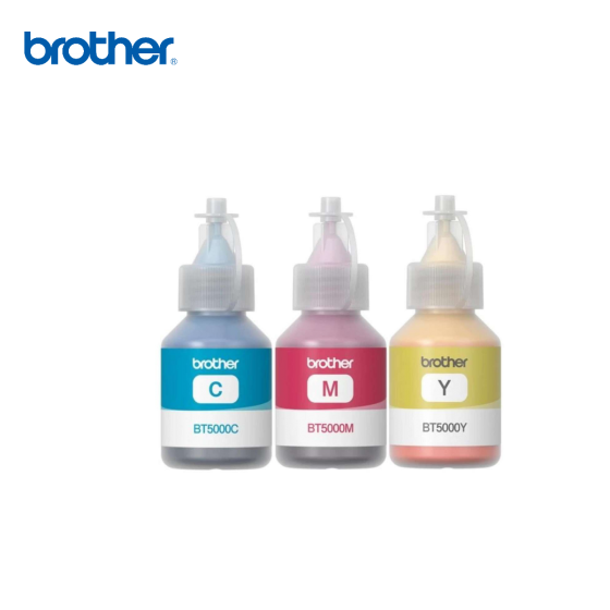 Brother Refill Ink BT5000C, BT5000M, BT5000Y NO BOX