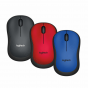 LOGITECH WIRELESS MOUSE M221 SILENT BLUE